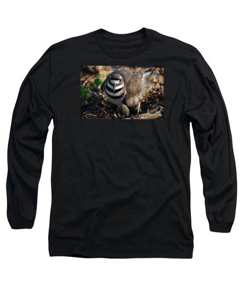 Killdeer Mom Long Sleeve T-Shirt by Skip Willits