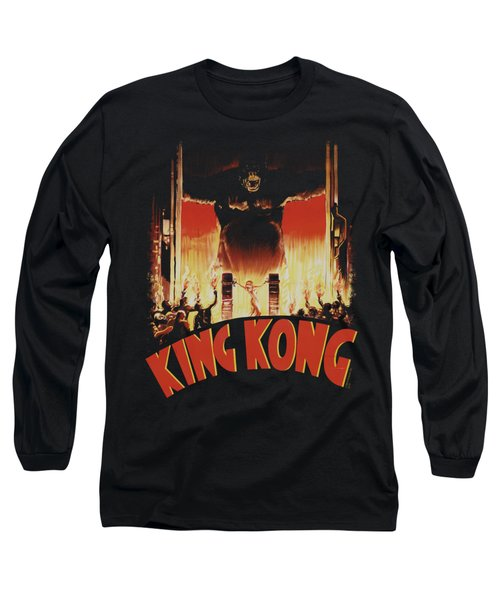King Kong - At The Gates Long Sleeve T-Shirt by Brand A
