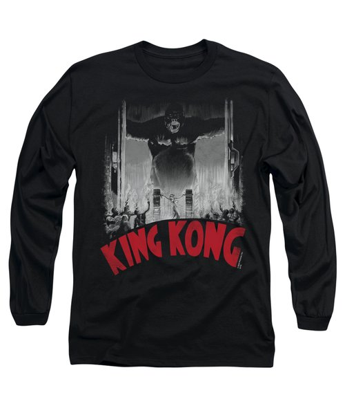 King Kong - At The Gates Poster Long Sleeve T-Shirt by Brand A