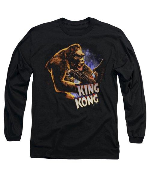 King Kong - Kong And Ann Long Sleeve T-Shirt by Brand A