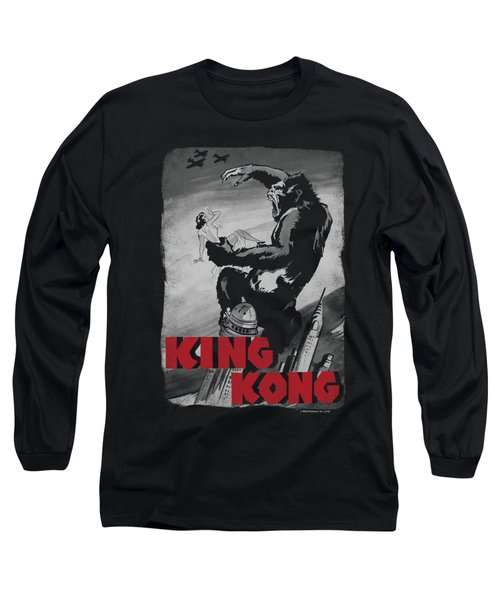 King Kong - Planes Poster Long Sleeve T-Shirt by Brand A