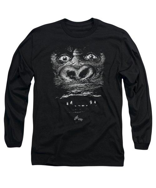 King Kong - Up Close Long Sleeve T-Shirt by Brand A
