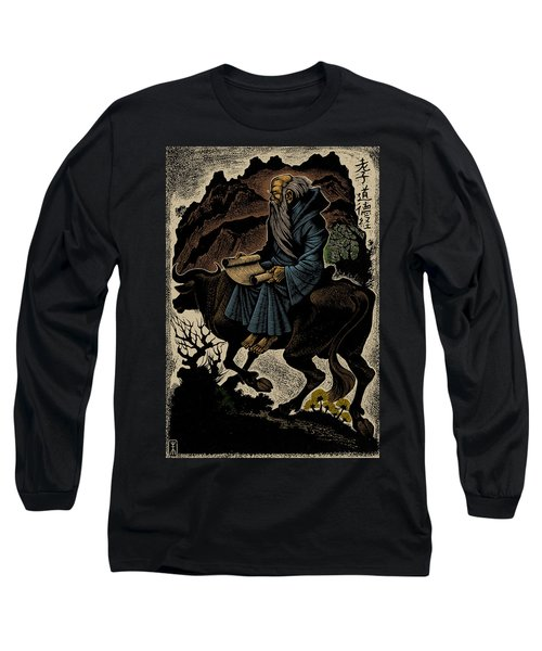 Long Sleeve T-Shirt featuring the photograph Laozi, Ancient Chinese Philosopher by Science Source