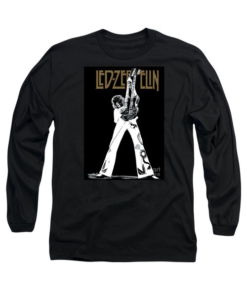 Led Zeppelin No.06 Long Sleeve T-Shirt by Caio Caldas