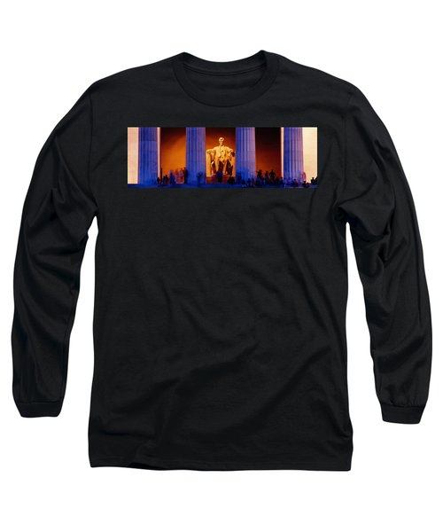 Lincoln Memorial, Washington Dc Long Sleeve T-Shirt by Panoramic Images