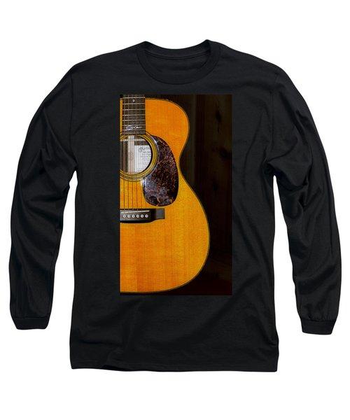 Martin Guitar  Long Sleeve T-Shirt by Bill Cannon