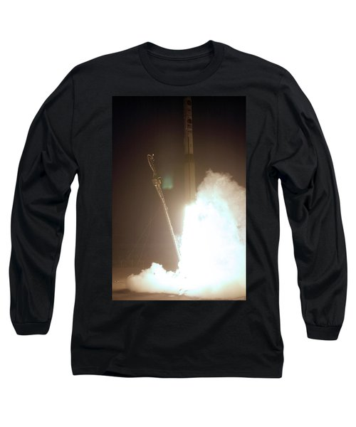 Minotaur Rocket Launch Long Sleeve T-Shirt by Science Source