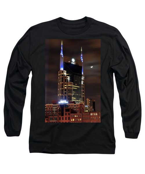 Nashville Long Sleeve T-Shirt by Frozen in Time Fine Art Photography