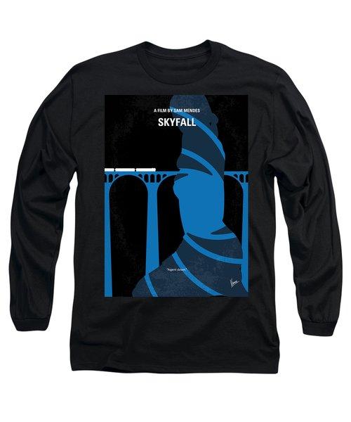 No277-007-2 My Skyfall Minimal Movie Poster Long Sleeve T-Shirt by Chungkong Art
