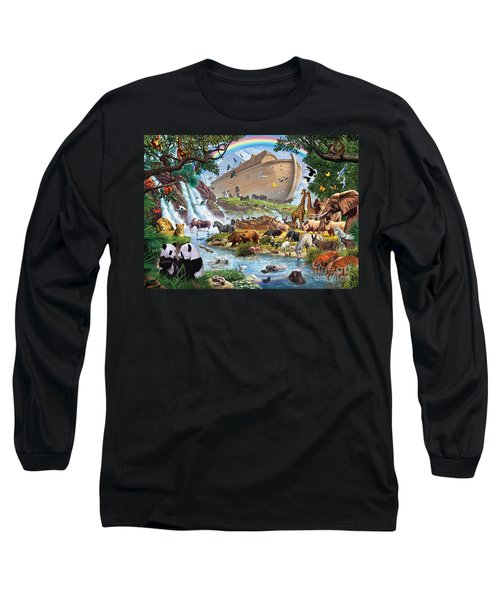 Noahs Ark - The Homecoming Long Sleeve T-Shirt by Steve Crisp