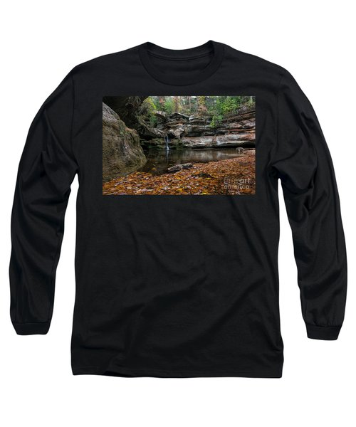 Old Mans Cave Long Sleeve T-Shirt by James Dean