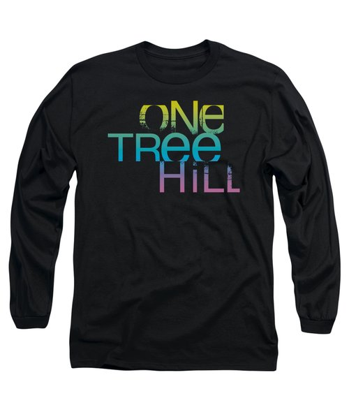 One Tree Hill - Color Blend Logo Long Sleeve T-Shirt by Brand A