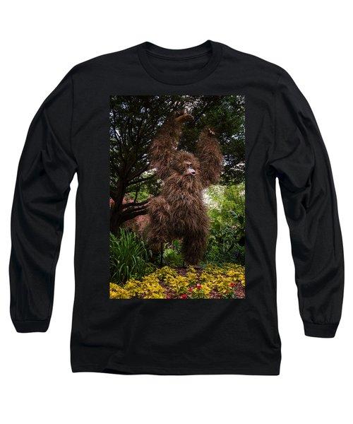 Orangutan Long Sleeve T-Shirt by Joan Carroll