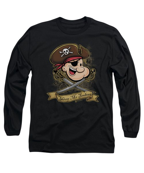 Popeye - Shiver Me Timbers Long Sleeve T-Shirt by Brand A