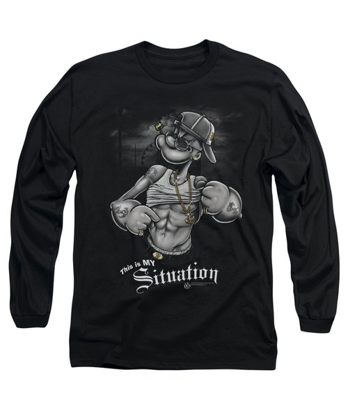 Popeye - Situation Long Sleeve T-Shirt by Brand A