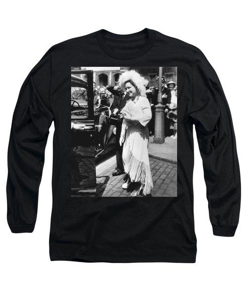 Queen Elizabeth Fashion Long Sleeve T-Shirt by Underwood Archives