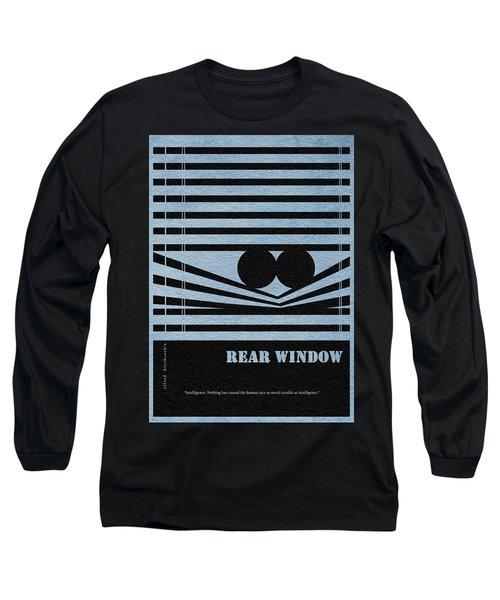 Rear Window Long Sleeve T-Shirt by Ayse Deniz