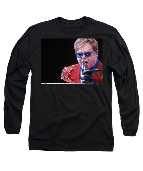 Rocket Man Long Sleeve T-Shirt by Aaron Martens