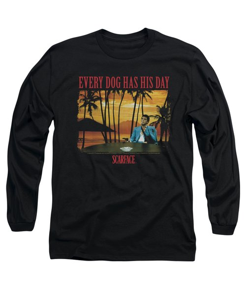 Scarface - A Dog Day Long Sleeve T-Shirt by Brand A