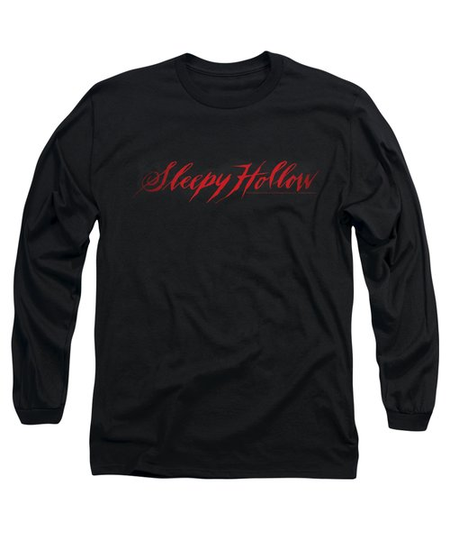Sleepy Hollow - Logo Long Sleeve T-Shirt by Brand A