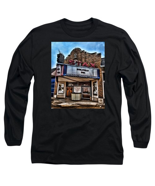 Stax Records Long Sleeve T-Shirt by Stephen Stookey