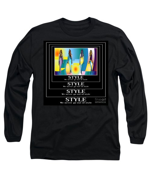 Style Long Sleeve T-Shirt by Kim Peto