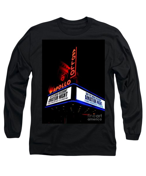 The Apollo Theater Long Sleeve T-Shirt by Ed Weidman