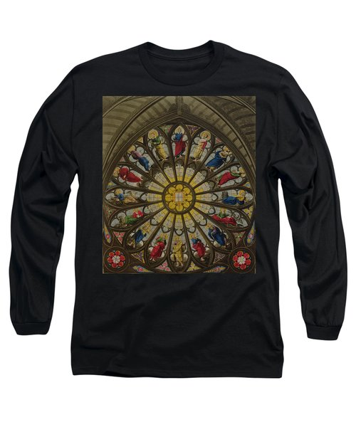 The North Window Long Sleeve T-Shirt by William Johnstone White