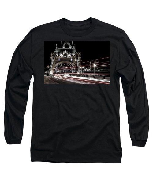 Tower Bridge London Long Sleeve T-Shirt by Martin Newman