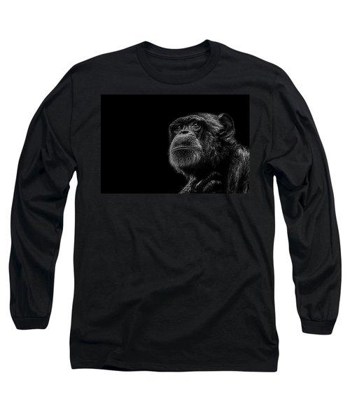 Trepidation Long Sleeve T-Shirt by Paul Neville