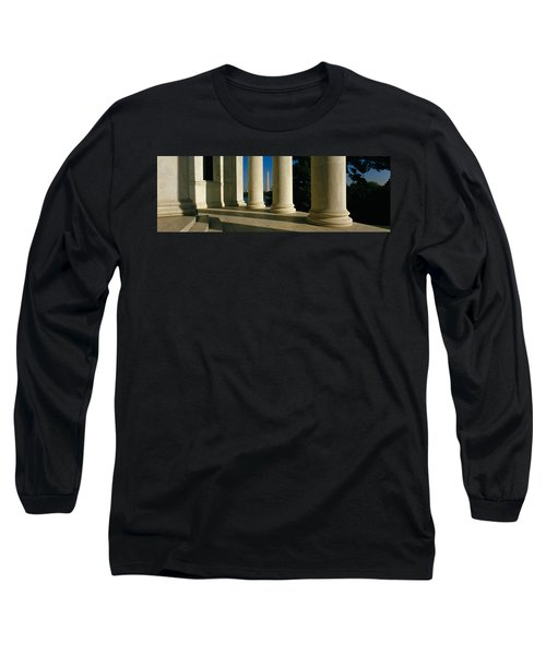 Usa, District Of Columbia, Jefferson Long Sleeve T-Shirt by Panoramic Images