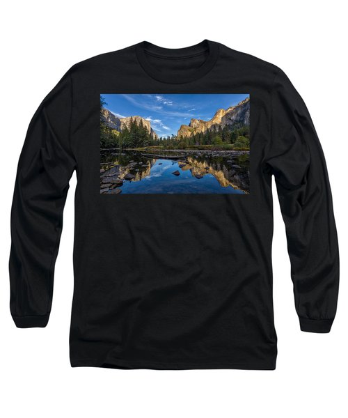 Valley View I Long Sleeve T-Shirt by Peter Tellone