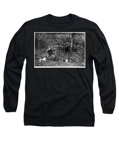 Bird Shooting, 1886 Long Sleeve T-Shirt by Granger