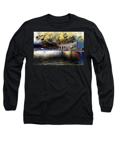 City Of Color Long Sleeve T-Shirt by Douglas Barnard