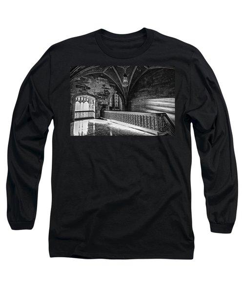 Cold Rock Warm Light Long Sleeve T-Shirt by CJ Schmit