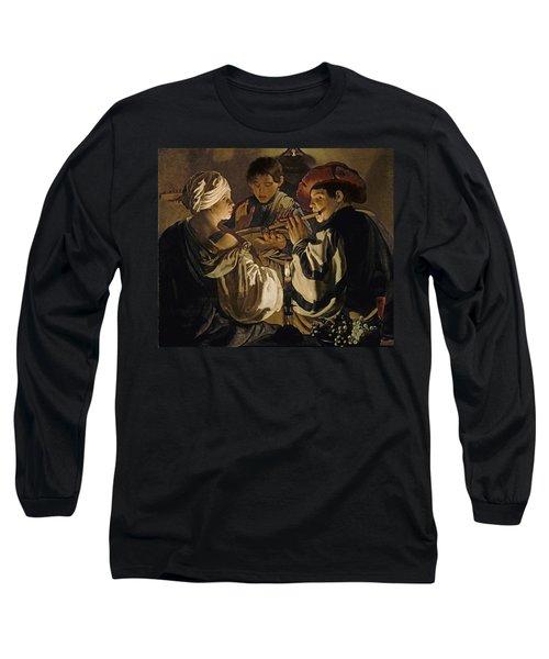 Concert Long Sleeve T-Shirt by Hendrick Ter Brugghen