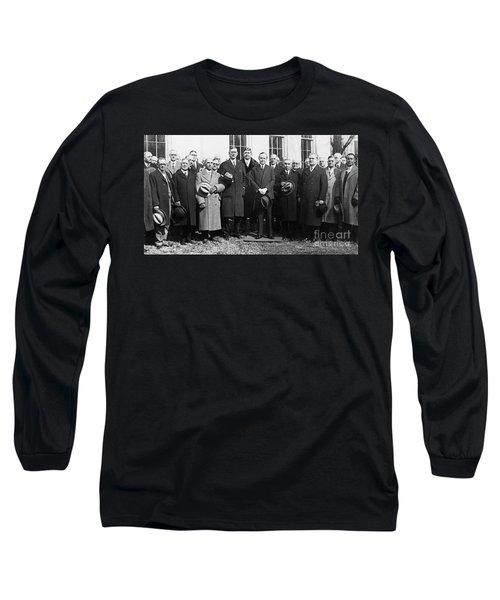 Coolidge: Freemasons, 1929 Long Sleeve T-Shirt by Granger