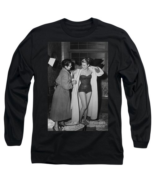 Grace Kelly  Long Sleeve T-Shirt by Photo Researchers