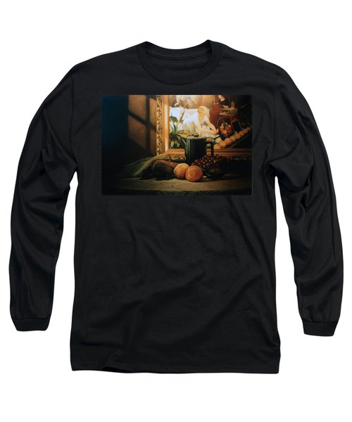 Still Life With Hopper Long Sleeve T-Shirt by Patrick Anthony Pierson