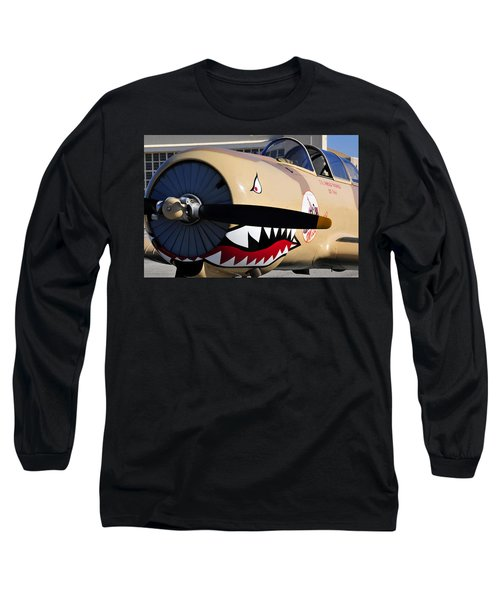 Yak Attack Long Sleeve T-Shirt by David Lee Thompson