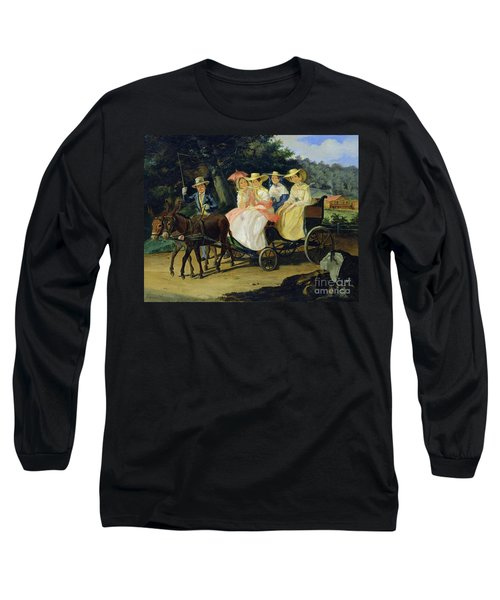 A Run Long Sleeve T-Shirt by Aleksandr Pavlovich Bryullov