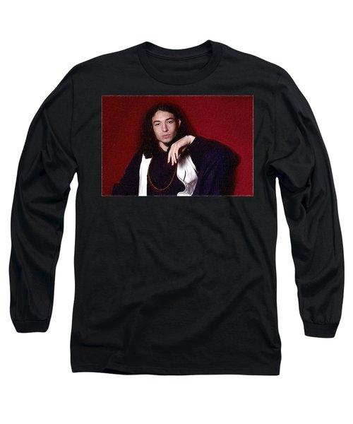 Ezra Miller Poster Long Sleeve T-Shirt by Best Actors
