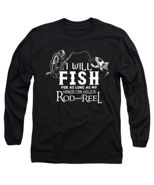 Fishing Long Sleeve T-Shirt by Thucidol