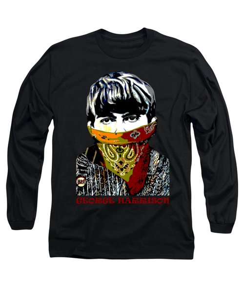 George Harrison Long Sleeve T-Shirt by RicardMN Photography