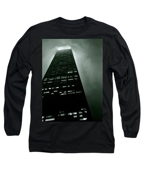 John Hancock Building - Chicago Illinois Long Sleeve T-Shirt by Michelle Calkins