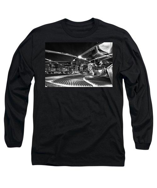 Millennium Park Long Sleeve T-Shirt by Sebastian Musial