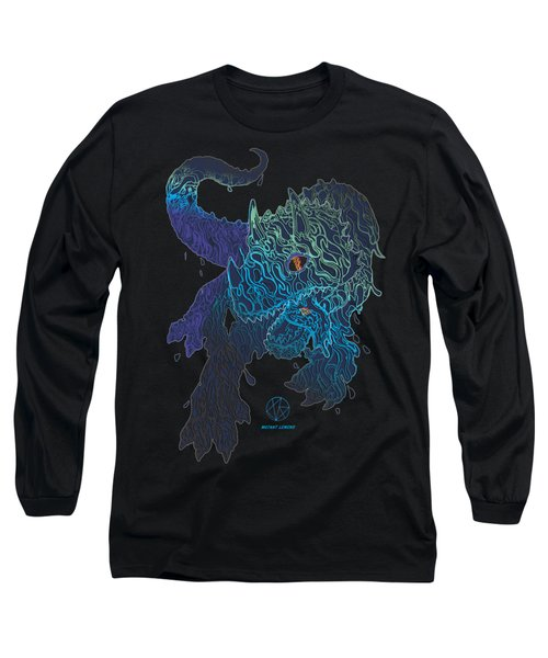 Triceratrippin Long Sleeve T-Shirt by Jordan Kotter