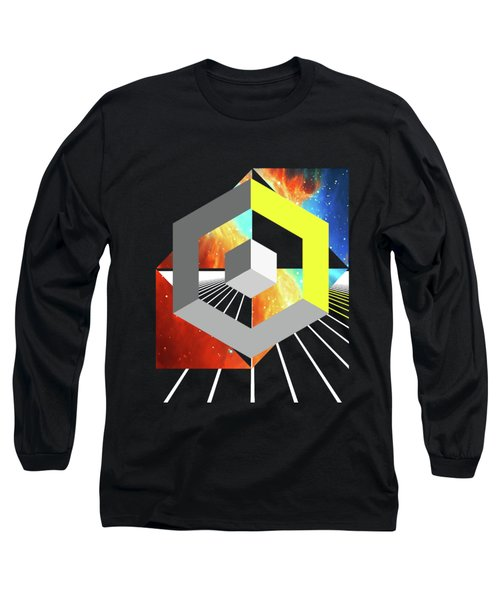 Abstract Space 4 Long Sleeve T-Shirt by Russell K