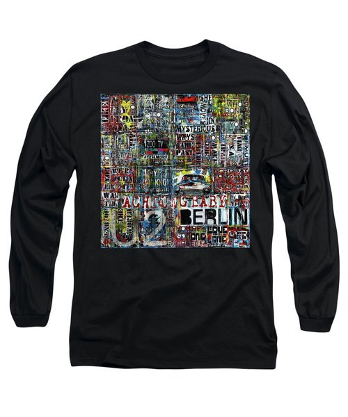 Achtung Baby Long Sleeve T-Shirt by Frank Van Meurs