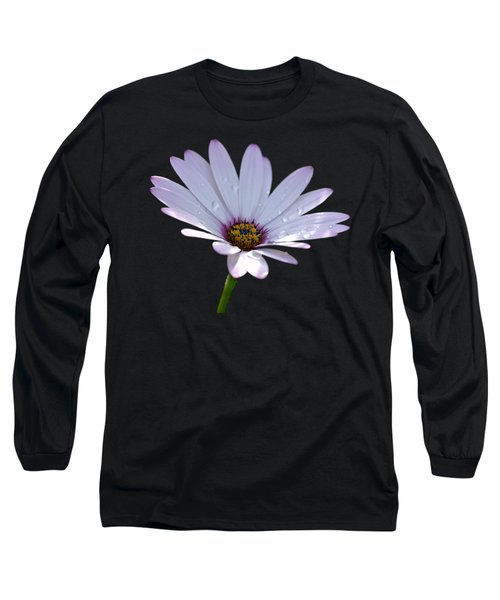 African Daisy Long Sleeve T-Shirt by Scott Carruthers